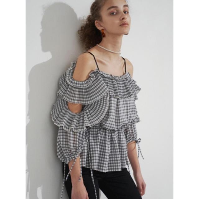 snidel(スナイデル)の新品タグ付き SNIDEL ブラウス レディースのトップス(シャツ/ブラウス(半袖/袖なし))の商品写真
