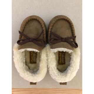 シマムラ(しまむら)の冬 モコモコ靴 14センチ(ブーツ)
