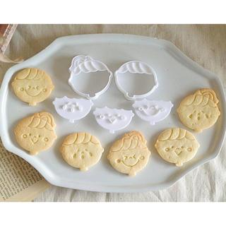 スマイルスタンプクッキー型セット