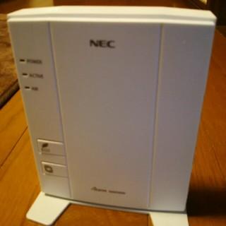 エヌイーシー(NEC)の無線ルーター(PC周辺機器)