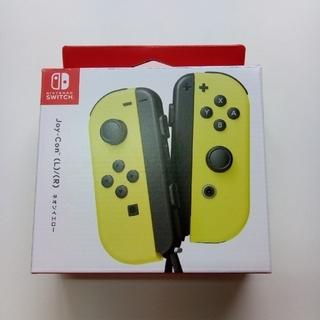Nintendo Switch - 【新品未使用】switch Joy-Con LR ネオンイエロー