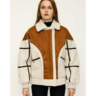 SLY - SLY 秋/冬の襟ジップルーズカジュアルジャケットジャケット