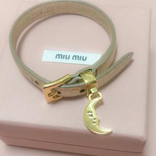 miumiu - miumiu 日本未発売 ブレスレット
