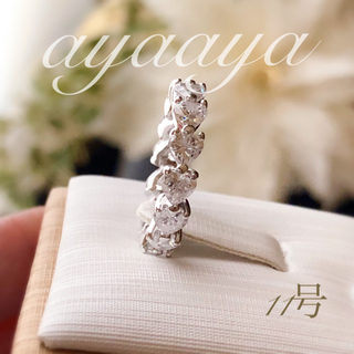 HARRY WINSTON - 最高級人工ダイヤモンド SONAダイヤモンド ハートシェイプ フルエタニティ