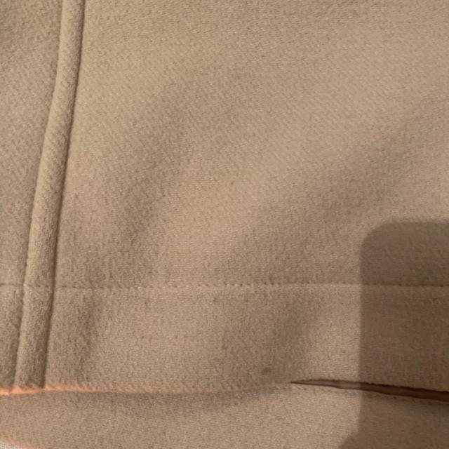 IENA(イエナ)のイエナ ダッフルコート ナチュラル  36 レディースのジャケット/アウター(ダッフルコート)の商品写真