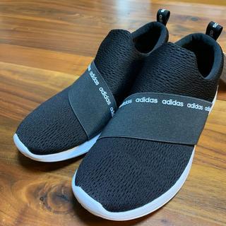 アディダス(adidas)のアディダス スリッポン  黒 25cm DB1339(スニーカー)