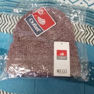 ウィゴー(WEGO)のWEGO ニットキャップ 新品(ニット帽/ビーニー)