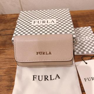 Furla - 新品【ほんのりピンク】FURLA ダリアベージュ キーケース