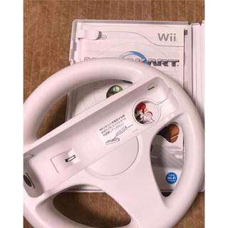Wii - マリオカート Wii ハンドルのみ