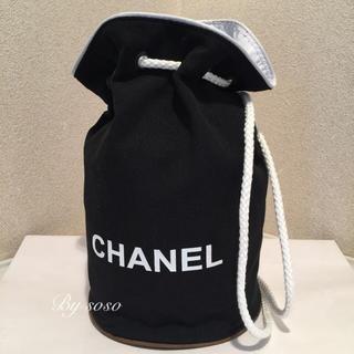 CHANEL - 新品 未使用品 シャネル  CHANEL ノベルティー  巾着バッグ