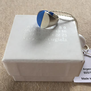 マルタンマルジェラ(Maison Martin Margiela)の19AW新品S メゾンマルジェラ ツートーン リング 指輪 メンズ 今期(リング(指輪))