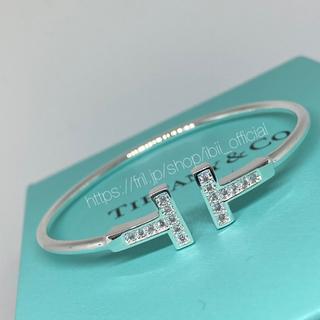 Tiffany & Co. - ✨最高品質✨TIFFANY&COティファニー好き✨Tワイヤーブレスレット✨