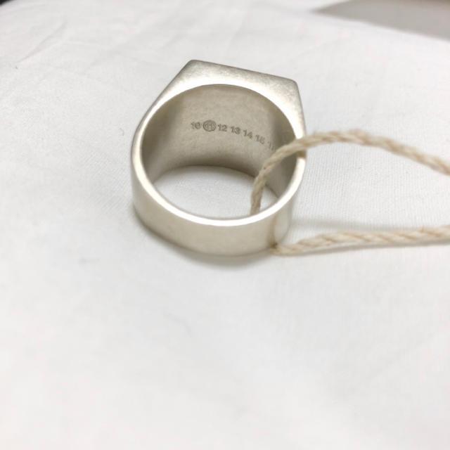 Maison Martin Margiela(マルタンマルジェラ)のMaison Margiela 11 シグネットリング M 21号 メンズのアクセサリー(リング(指輪))の商品写真