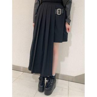Ank Rouge - ☆19AW 新作 Jamie エーエヌケー 合皮ベルト付きイレギュラースカート