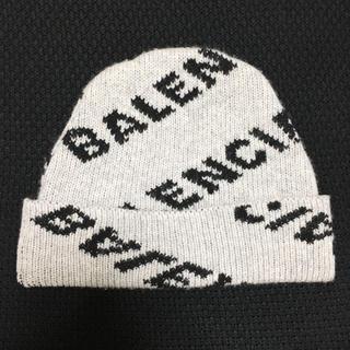 Balenciaga - BALENCIAGA ロゴ ニット帽 ビーニー