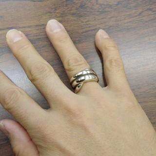 シンプルリング 925刻印あり 13号(リング(指輪))