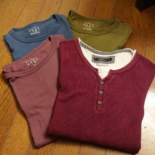 レイジブルー(RAGEBLUE)の長袖4枚セット レイジブルー3枚他1枚(Tシャツ/カットソー(七分/長袖))