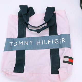 トミーヒルフィガー(TOMMY HILFIGER)のTOMMY HILFIGER トートバッグ ピンク(トートバッグ)