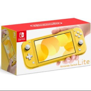 Nintendo Switch - 「Nintendo Switch Lite イエロー」  任天堂