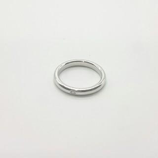 Tiffany & Co. - ティファニー リング プラチナ Pt950 ペレッティ 1P ダイヤ 約11号