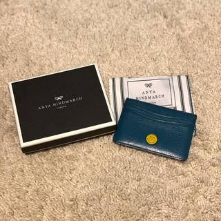 ANYA HINDMARCH - アニヤハインドマーチ  カードケース パスケース