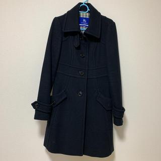 バーバリーブルーレーベル(BURBERRY BLUE LABEL)のバーバリーブルーレーベル ブラック コート(ロングコート)