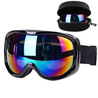 ブラックBoonor スキーゴーグル スノボーゴーグル 紫外線防止 防水 高品質