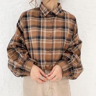 Kastane - chocomee チェックシャツ