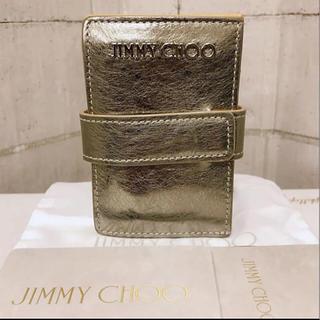 JIMMY CHOO - JIMMY CHOO ジミーチュウ  カードケース カードホルダー シルバー