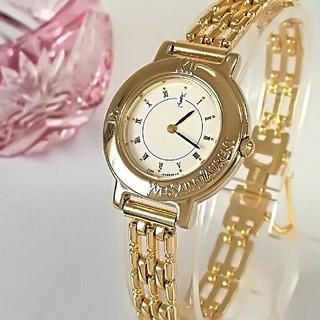 Saint Laurent - 綺麗 サンローラン レディースウォッチ 時計 白 卒業式 プレゼントに ギリ美品