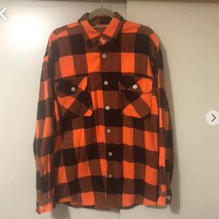 アンチ(ANTI)のチェックシャツ ネルシャツ  ANTISOCIAL(シャツ)