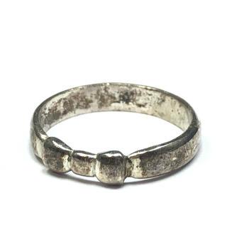1820 シルバーリング リボンデザイン 6号(リング(指輪))