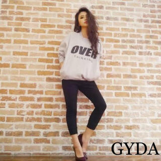 GYDA - GYDA  ロゴトレーナー スウェット