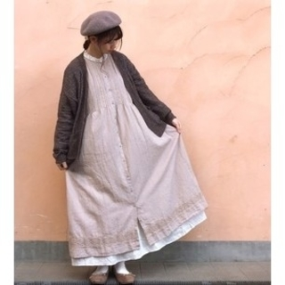 SM2 - *SM2*【新品タグ付き】今季完売品☆綿麻ティアードスカート♪キナリ☆半額