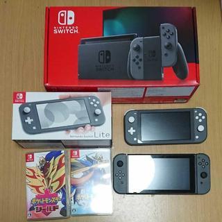 任天堂 - 任天堂 Switch スイッチ 本体 ライト ポケモン ソード シールド まとめ