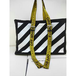 OFF-WHITE - 男女兼用 off-white ハンドバッグ