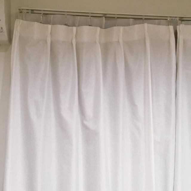 ニトリ(ニトリ)のNITORI★ミラーレースカーテン 100×198 インテリア/住まい/日用品のカーテン/ブラインド(レースカーテン)の商品写真