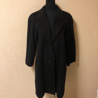 ロロピアーナ(LORO PIANA)のロロピアーナ カシミヤ 100% ブラック コート(ロングコート)