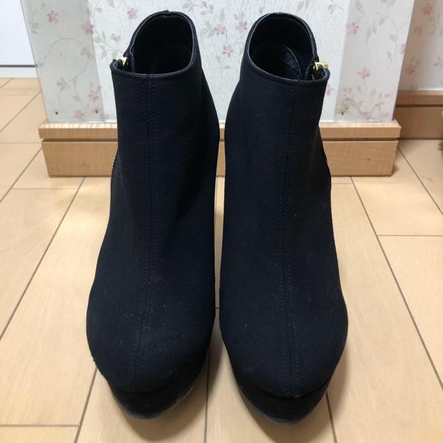 ESPERANZA(エスペランサ)の【新品同様】【値下げ】ESPERANZA サイドジップブーツ レディースの靴/シューズ(ブーティ)の商品写真