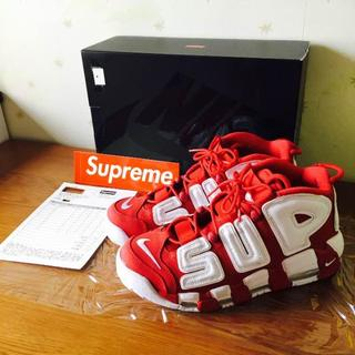 NIKE - Supreme/Nike Air more uptempo