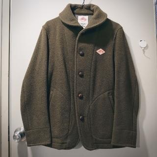DANTON - DANTON コート サイズ38(メンズS相当) オリーブグリーン