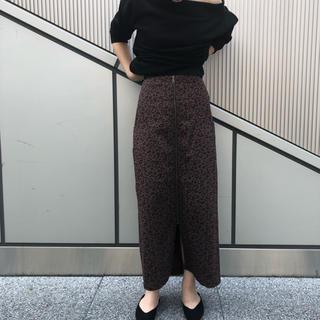 CAPRICIEUX LE'MAGE - 今季新品 カプリシューレマージュ フロントZIPスカート