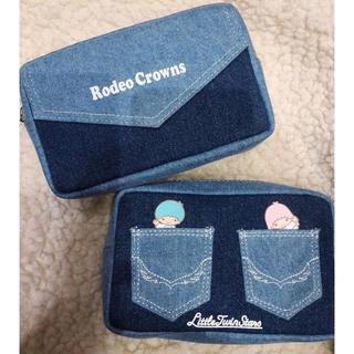 ロデオクラウンズ(RODEO CROWNS)の新宿限定 Little twin stars×RCS ポーチ (ポーチ)