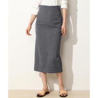 TOMORROWLAND - GALERIE VIEコットンリネンストレッチタイトスカート