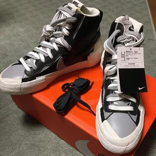 sacai - Nike Blazer Mid sacai Black Grey 27.5