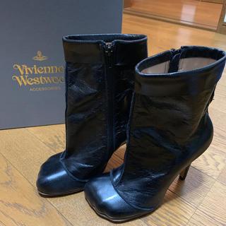 ヴィヴィアンウエストウッド(Vivienne Westwood)のVivienne Westwood アニマルトゥ ブーツ(ブーツ)