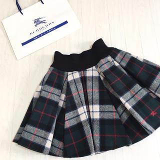 BURBERRY BLUE LABEL - 良品☆バーバリーブルーレーベル ウール スカート 38サイズ