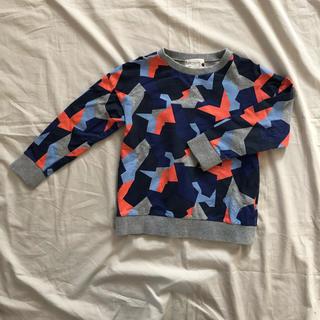 チェスティ(Chesty)のchesty petit 幾何学柄 トレーナー サイズ110(Tシャツ/カットソー)
