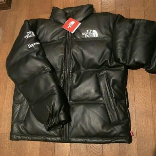 THE NORTH FACE - Supreme North Face Leather Nuptse Jacket