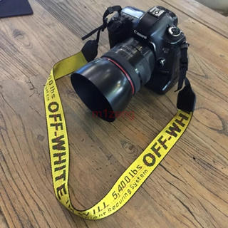 オフホワイト(OFF-WHITE)のオフホワイト カメラ ネックストラップ off-white(ケース/バッグ)